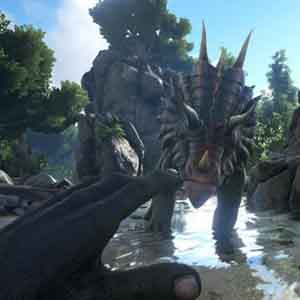 ARK Survival Evolved Xbox One - Face-to-Face with the Dinosaur