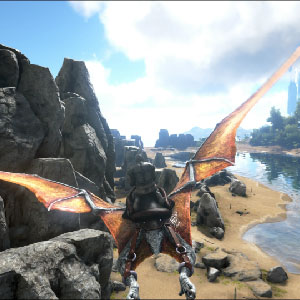 ARK Survival Evolved Xbox One - Riding the Dinosaur