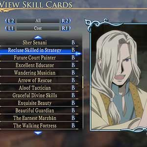 Arslan The Warriors of Legend PS4 - Character Status