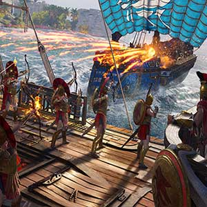 Assassins Creed Odyssey naval conquest battle