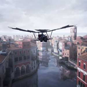 Assassin's Creed The Ezio Collection Flying Machine