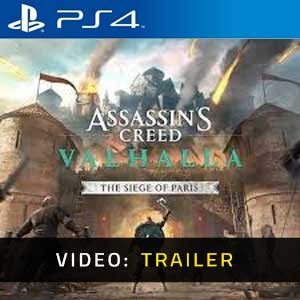 Assassin's Creed Valhalla The Siege of Paris PS4 Video Trailer