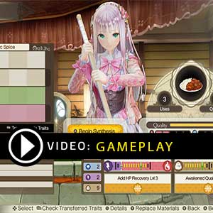 Atelier Lulua The Scion of Arland Gameplay Video