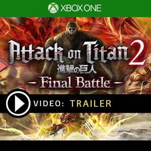 Attack on Titan 2 Final Battle Xbox One Prices Digital or Box Edition