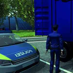 Autobahn-Police Simulator 2015 - Checking on the Blue Container