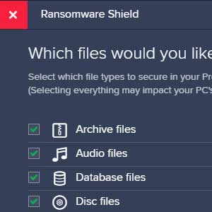 Avast Internet Security Global License - Ransomware Shield