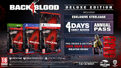 purchase back 4 blood deluxe edition game key cheap