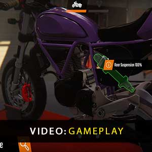 Biker Garage Mechanic Simulator Gameplay Video