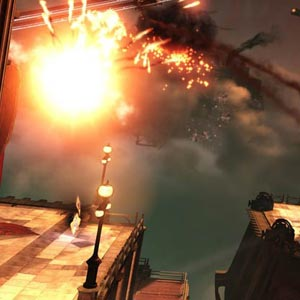 Big Explosion in Bioshock Infinite