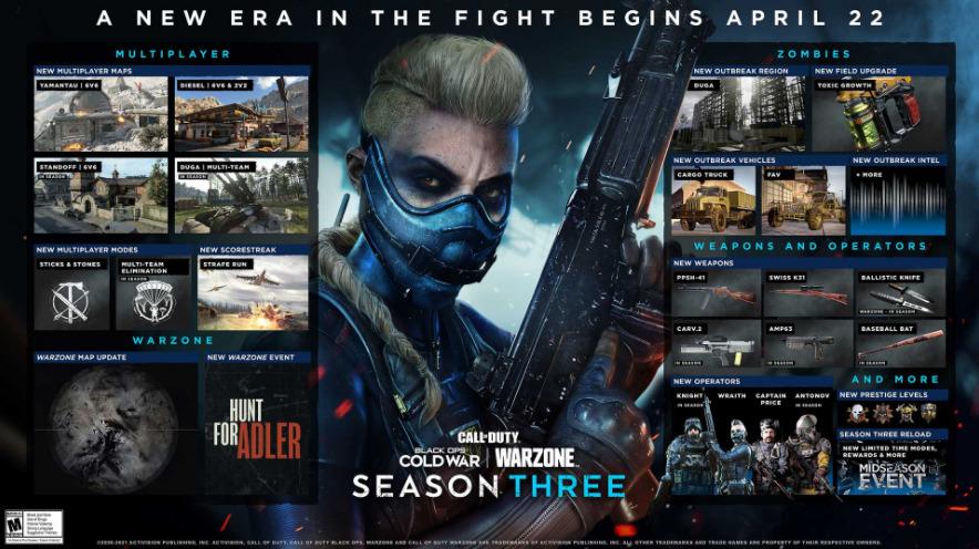 CoD Black Ops Season 3
