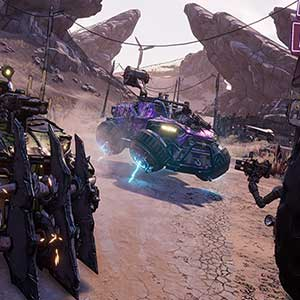 Borderlands 3 - Catch-a-Ride Vehicles