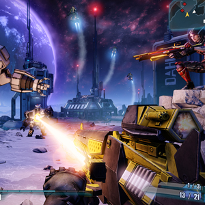 Borderlands The Pre-Sequel - Attack