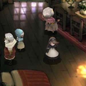 Bravely Default Nintendo 3DS Bedroom