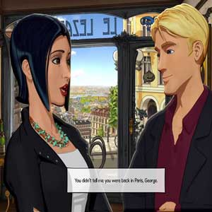 Broken Sword 5 The Serpents Curse George and Nico