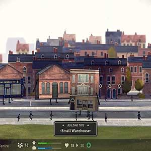 Befriend a range of Buildings