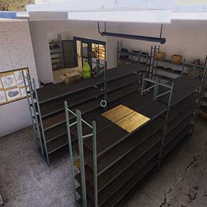 storage rooms