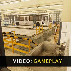 Bus Mechanic Simulator Gameplay Video