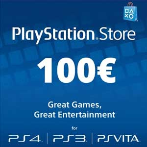 PSN Card 100 Euros Code Price Comparison