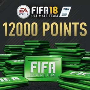12 000 Points FIFA 18 PS4 Code Price Comparison