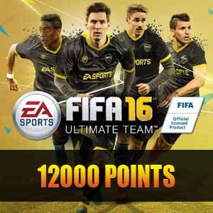 12000 FIFA 16 Points Gamecard Code Price Comparison