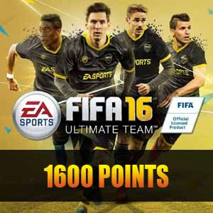1600 FIFA 16 Points Gamecard Code Price Comparison