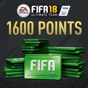 1600 Points FIFA 18 Digital Download Price Comparison