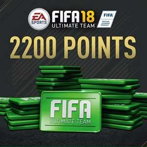 2200 Points FIFA 18 PS4 Code Price Comparison