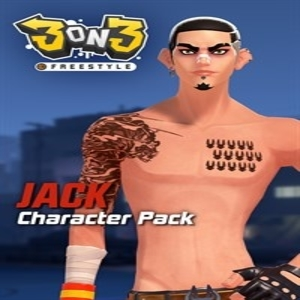 3on3 FreeStyle Jack Character Pack