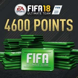 4600 Points FIFA 18 Xbox One Code Price Comparison