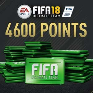 4600 Points FIFA 18 PS4 Code Price Comparison