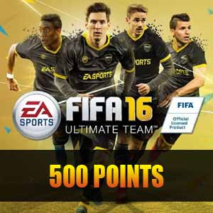 500 FIFA 16 Points Gamecard Code Price Comparison
