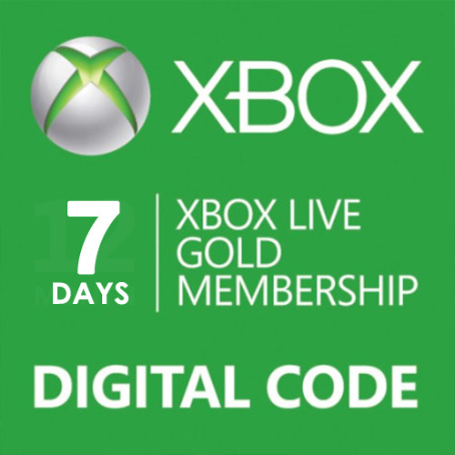 7 Days Gold Subscription Card Xbox Live Code Price Comparison