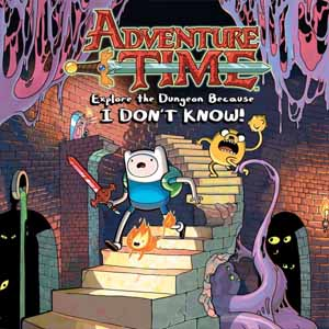 Buy Adventure Time Explore the Dungeon Because I DONT KNOW Nintendo 3DS Download Code Compare Prices