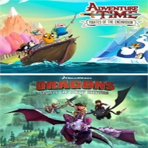 Adventure Time Pirates of the Enchiridion and DreamWorks Dragons Dawn of New Riders Bundle