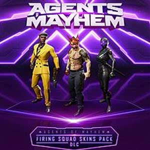 Agents of Mayhem Firing Squad Skins Pack