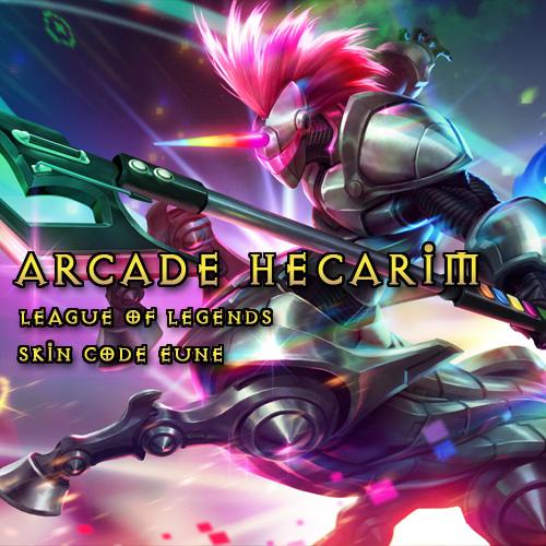 Arcade Hecarim League Of Legends Skin EUNE Gamecard Code ...