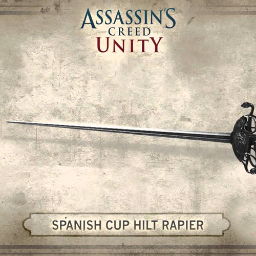 Assassins Creed Unity Spanish Hilt Rapier Digital Download Price Comparison