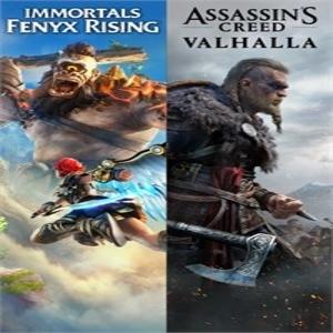 Assassins Creed Valhalla Plus Immortals Fenyx Rising Bundle