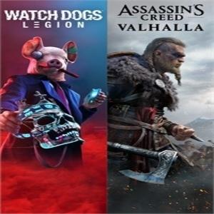 Assassins Creed Valhalla Plus Watch Dogs Legion Bundle