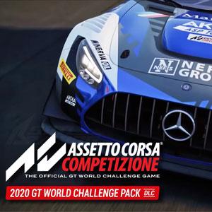 Assetto Corsa Competizione 2020 GT World Challenge Pack Digital Download Price Comparison
