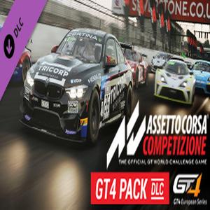 Assetto Corsa Competizione GT4 Pack Digital Download Price Comparison