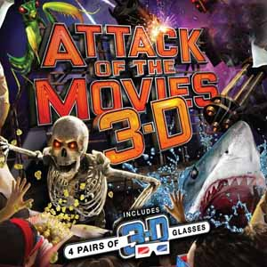 Attack of the Movies 3D XBox 360 Code Price Comparison