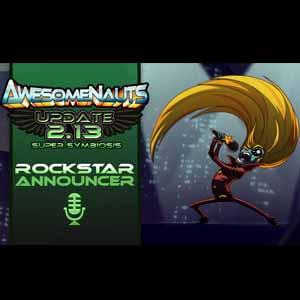 Awesomenauts Rockstar Announcer