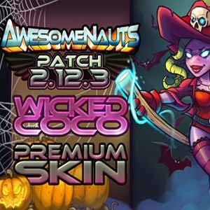 Awesomenauts Wicked Coco Skin