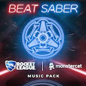 Beat Saber Rocket League x Monstercat Music Pack Digital Download Price Comparison