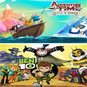 Ben 10 and Adventure Time Pirates of the Enchiridion Bundle