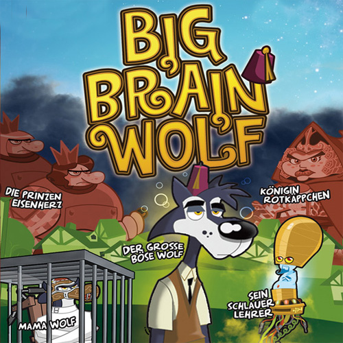 Big Brain Wolf Digital Download Price Comparison