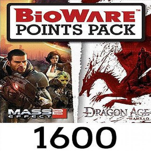 Bioware 1600 Points Gamecard Code Price Comparison