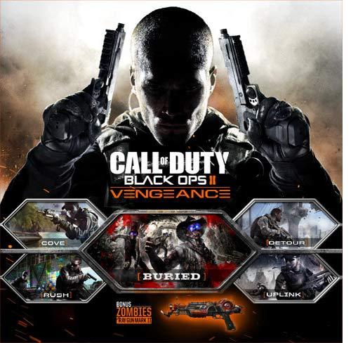 COD Black Ops II Vengeance DLC Digital Download Price Comparison