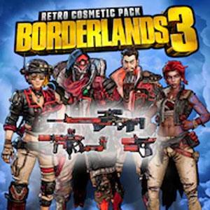Borderlands 3 Retro Cosmetic Pack